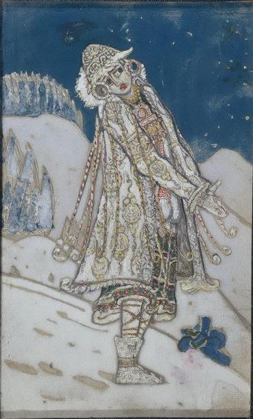 Н.К. Рерих. Снегурочка. 1912