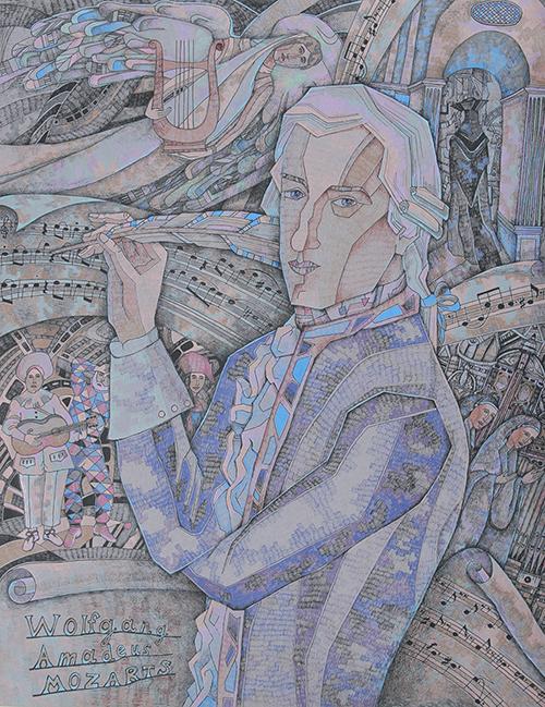Щербаков Матвей, 13 лет. Моцарт и его музыка.