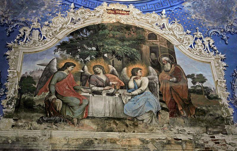 «Ветхозаветная Троица». Богоявленский монастырь, города Углич.