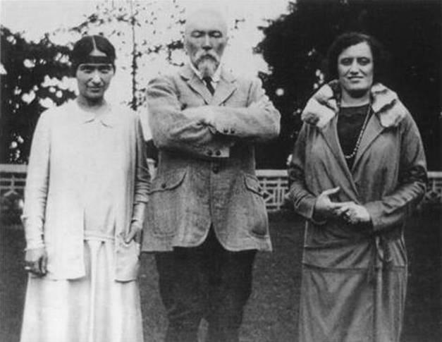 Зинаида Лихтман, Н. К. Рерих,  Франсис Грант, Индия, 1928