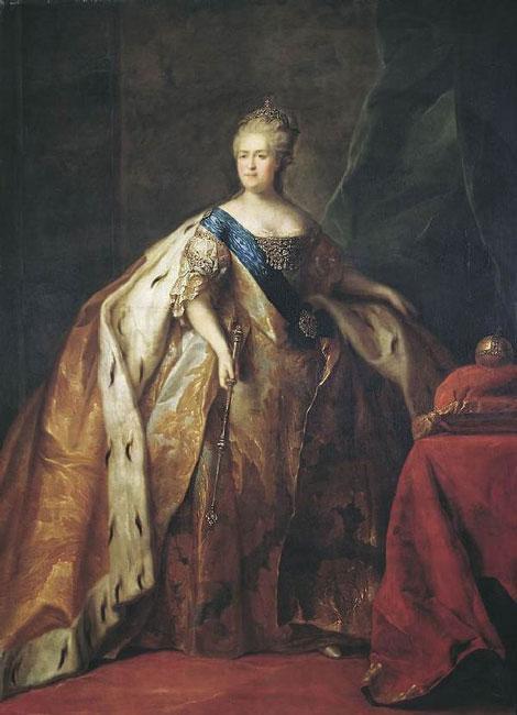 Дрожин П.С. Портрет императрицы Екатерины II. 1796