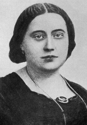 Елена Петровна Блаватская в молодости