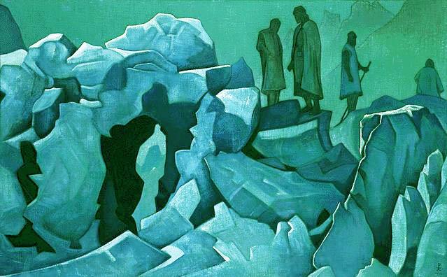 Н.К. Рерих. Дозор Гималаев. 1925-1926