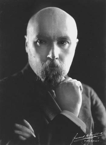 Н. К. Рерих.  1921 год.
