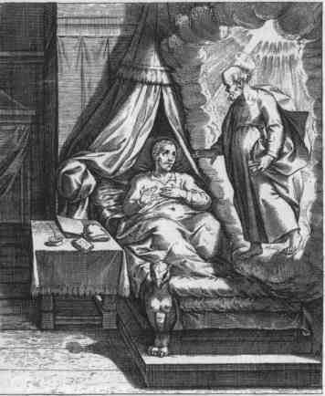 Иллюстрация к книге «Рассказ паломника о своей жизни: Игнатий Лойола».