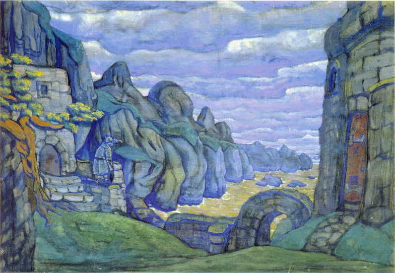 Замок Тристана в Бретани [3-й акт] 1913