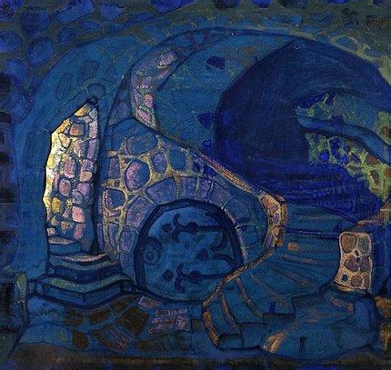 Н.К.Рерих. Подземелье. 1913