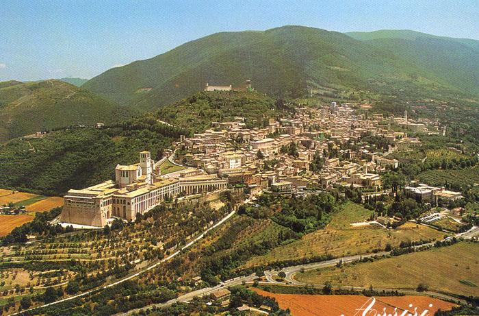 Ассизи. Провинция Умбрия. Италия