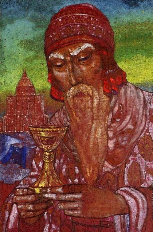 С.Н.Рерих. Царь Соломон. 1923