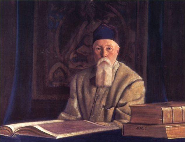 С.Н.Рерих. Портрет профессора Николая Рериха. 1937
