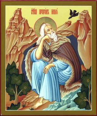 Илия Пророк Божий. Икона. XX в.