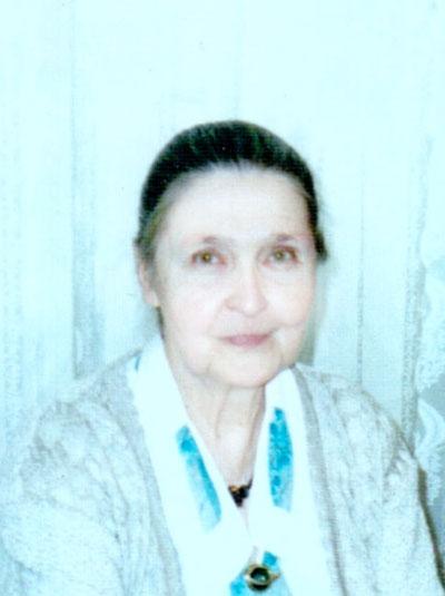 Ирина Николаевна Стригун (1932—2002). Новосибирск, 2002