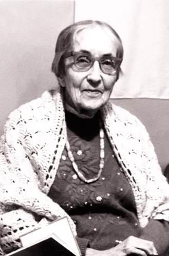 Наталия Дмитриевна Спирина. Новосибирск, 1996. (Фото из архива Н.В.Жуковой. Новосибирск)