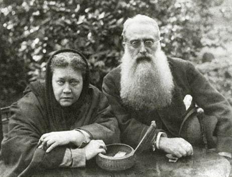 Е.П. Блаватская и Г.С. Олькотт