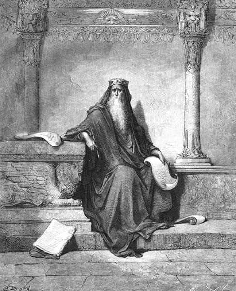 Гюстав Доре. Соломон. 1886