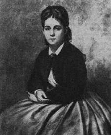 Портрет писательницы А. Н. Якоби ( урожд Сусоколова, в первом браке Тюфяева, в третьем Пешкова; псевдоним Толиверова; 1842-1918)