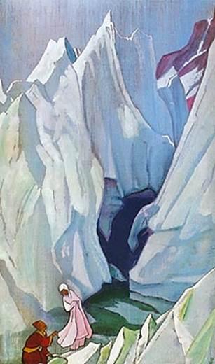 Н.К.Рерих. Ведущая. 1932