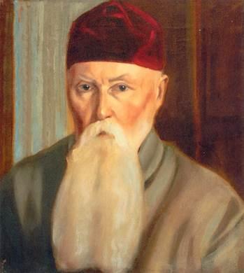 С.Н.Рерих. Портрет Николая Константиновича Рериха.