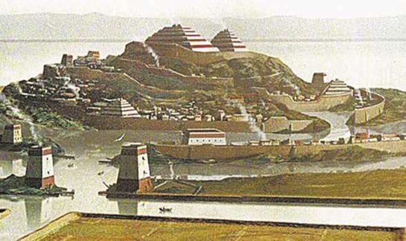 Столица Атлантиды — Город Золотых Врат
