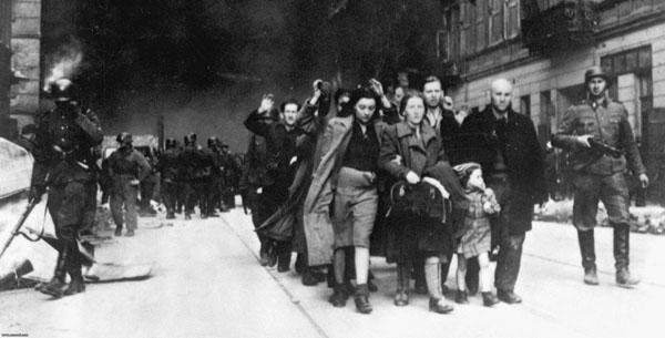 Варшавское восстание. Пленение мирных людей 1944.