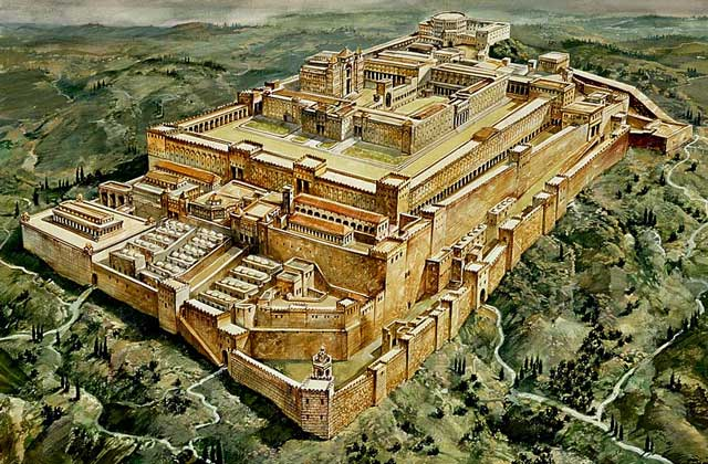 Иерусалимский Храм на горе Мориа