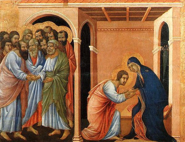 Дуччо (1260-1319). Благая весть