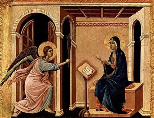 Дуччо (1260-1319). Благая весть.