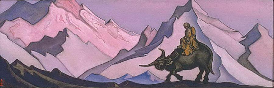Н.К.Рерих. Лао-Цзы. 1937