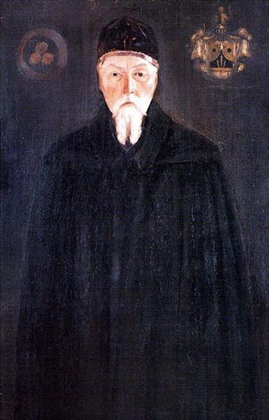 С.Н.Рерих. Портрет Н.К.Рериха. 1932
