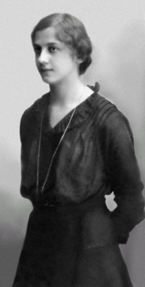 Валентина Лосева – студентка университета