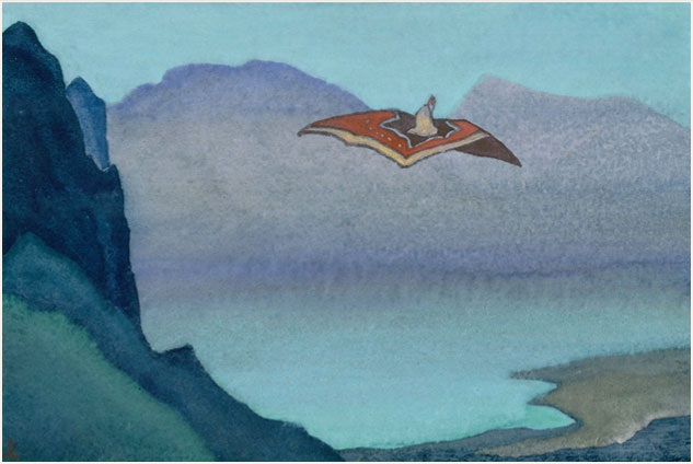 Н.К.Рерих. Ковёр-самолёт. 1935-1936