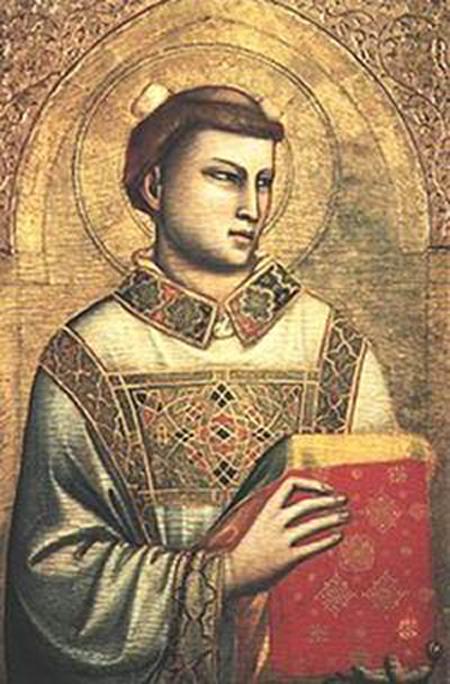 Джотто (1267-1337). Пресвитер Стефан.