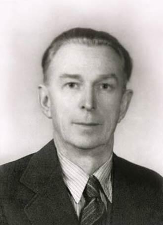 Борис Николаевич Абрамов. 1960-е годы. (Фото из архива Н.В.Жуковой. Новосибирск)