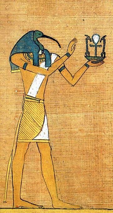 Древнеегипетский бог Тот (Гермес)