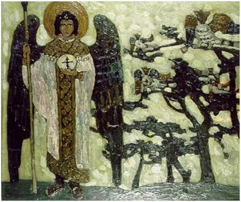 Н.К.Рерих. Архангел. 1904