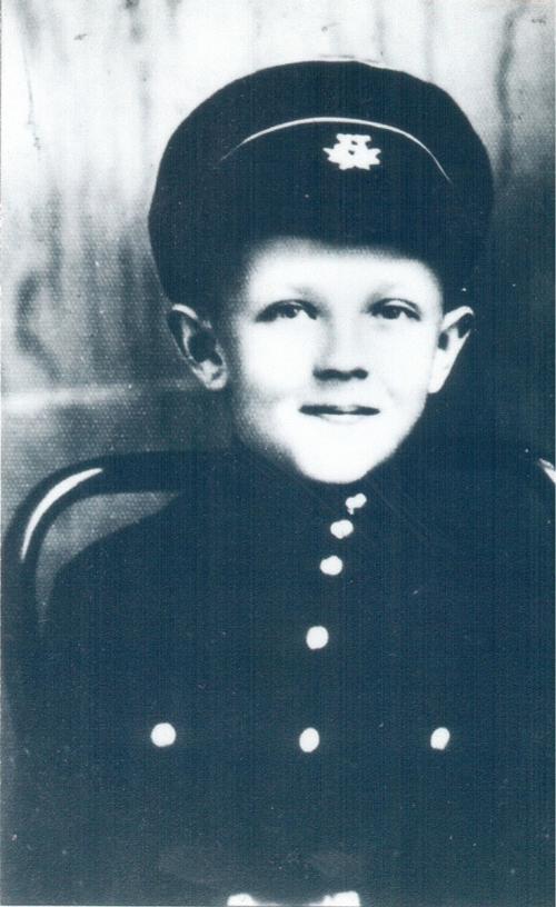 Гена-гимназист. Харбин. 1930-е годы