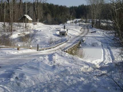 Зима. Новосибирская область