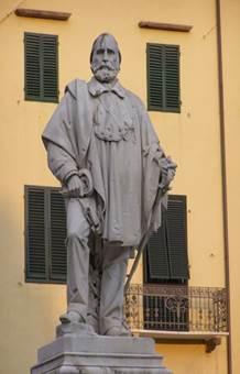 Памятник Гарибальди в Генуе