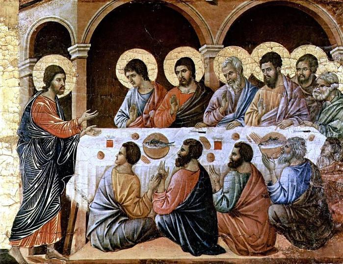 Дуччо (1260-1319). Прощание.