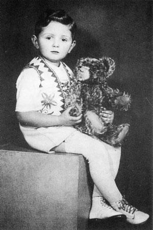 Сын Елены Сережа (1937–1948)