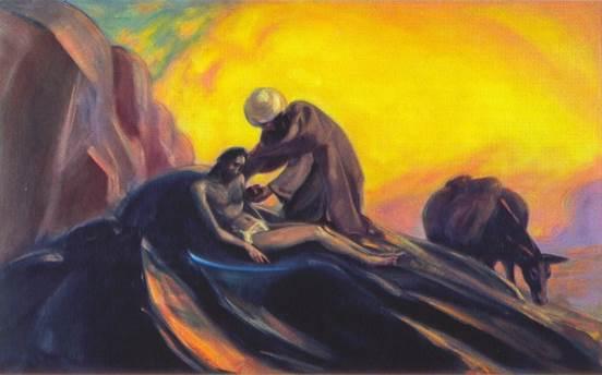 С.Н.Рерих. Добрый самаритянин. 1943–1944
