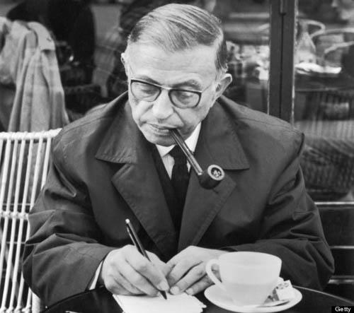 Сартр пишет свой отказ