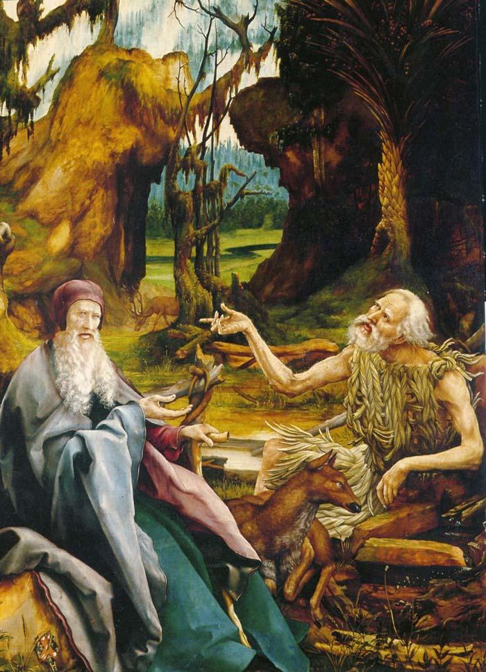 Грюневальд М.Г. (1480-1529). Евангелисты Матфей и Иоанн.
