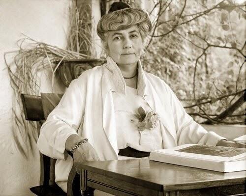 Е.И. Рерих. Наггар, Индия, 1930г.