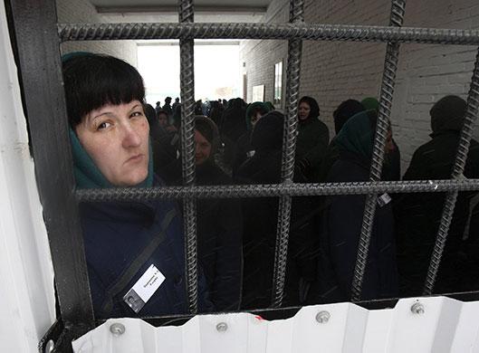 Сестра Елена  в  заключении