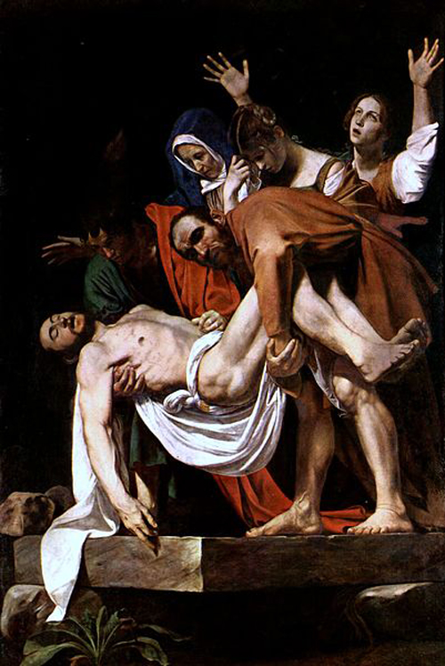 Караваджо (1571-1660). Положение во гроб.