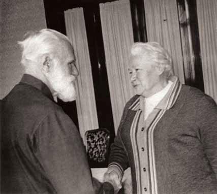 С.Н. Рерих и Л.В. Шапошникова. Москва, 1989