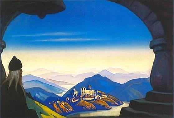 К.Рерих. Terra Slavonica. (Земля Славянская) . 1943