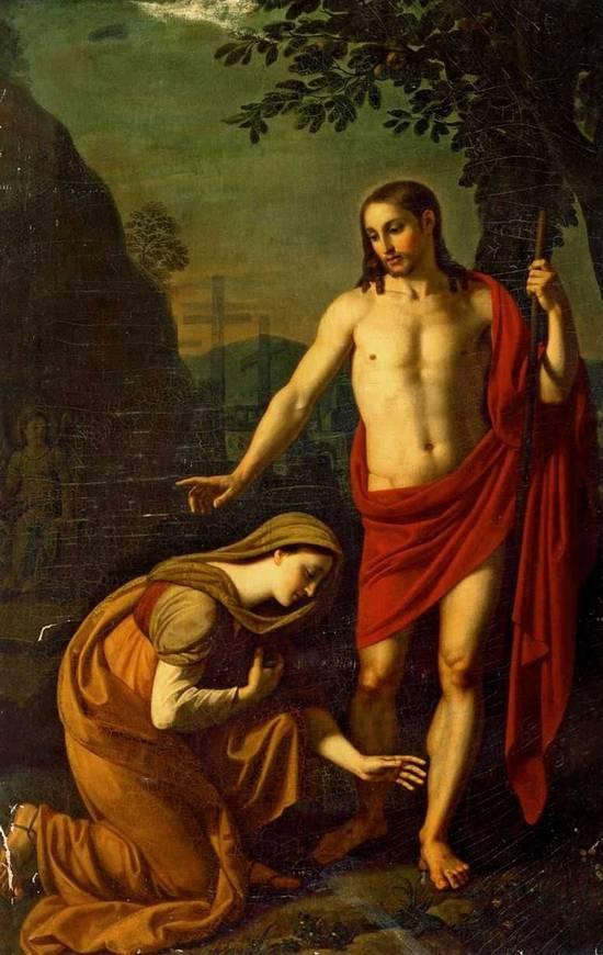 А.Е. Егоров (1776-1851). Явление Христа  Марии Магдалине