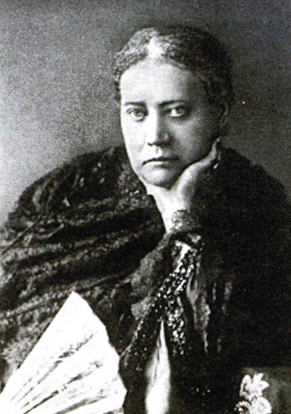 Е.П. Блаватская. 1877год